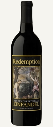 2016 Redemption Zinfandel 750ml