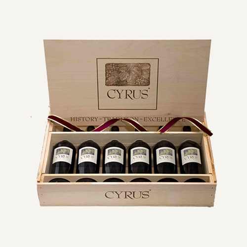 CYRUS 2013 6pk with Wood Box