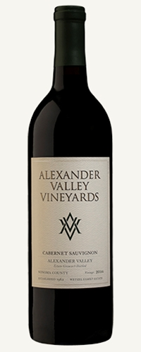 2016 CABERNET SAUVIGNON - Organically Grown
