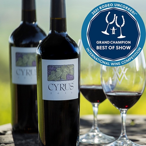 2014 CYRUS 750ml 2 bottle special